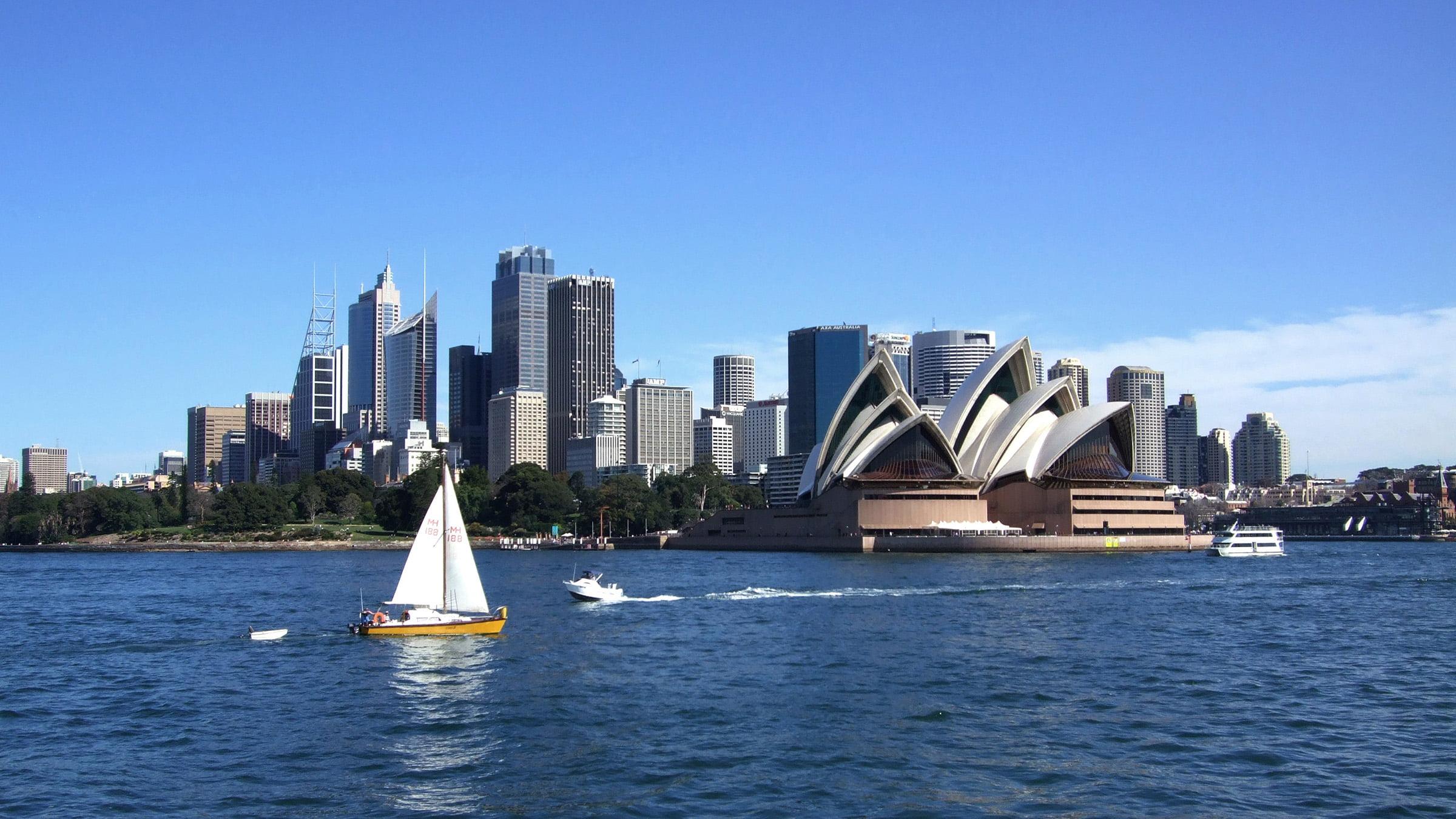 La Opera de Sidney en Australia