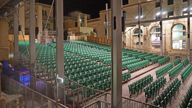 A Royal Opera House de La Valeta en Malta