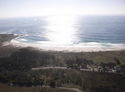 la playa Lariño
