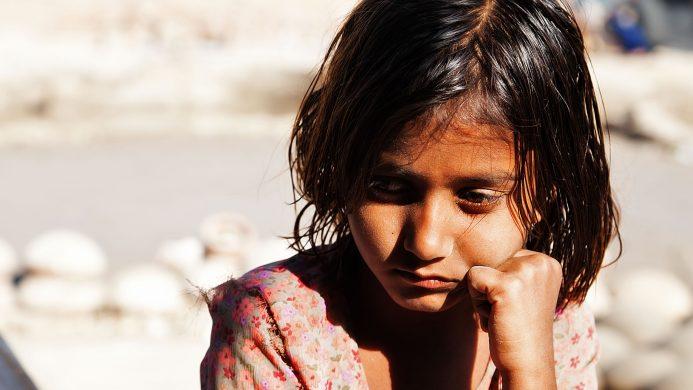 La pobreza infantil en el mundo