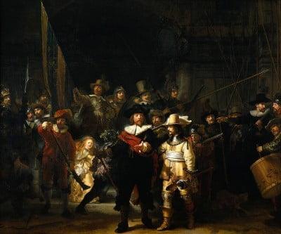 La ronda de noche de Rembrandt