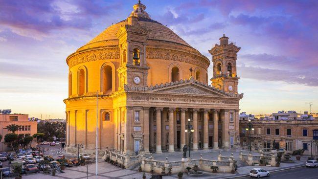 La Rotunda de Mosta o Iglesia de Nuestra Señora de la Asunción, Malta