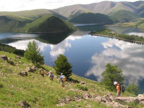 Lago de Mongolia