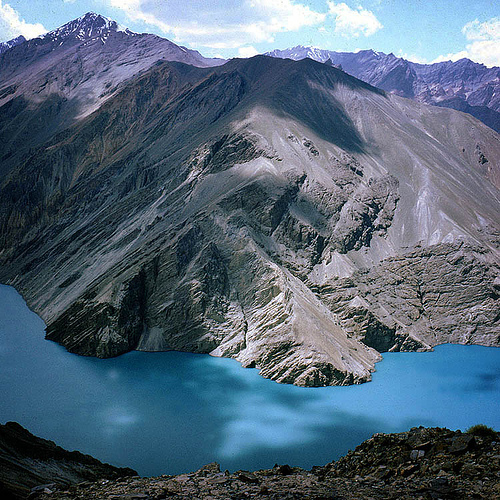 Lago de Sares proximo al Pamir