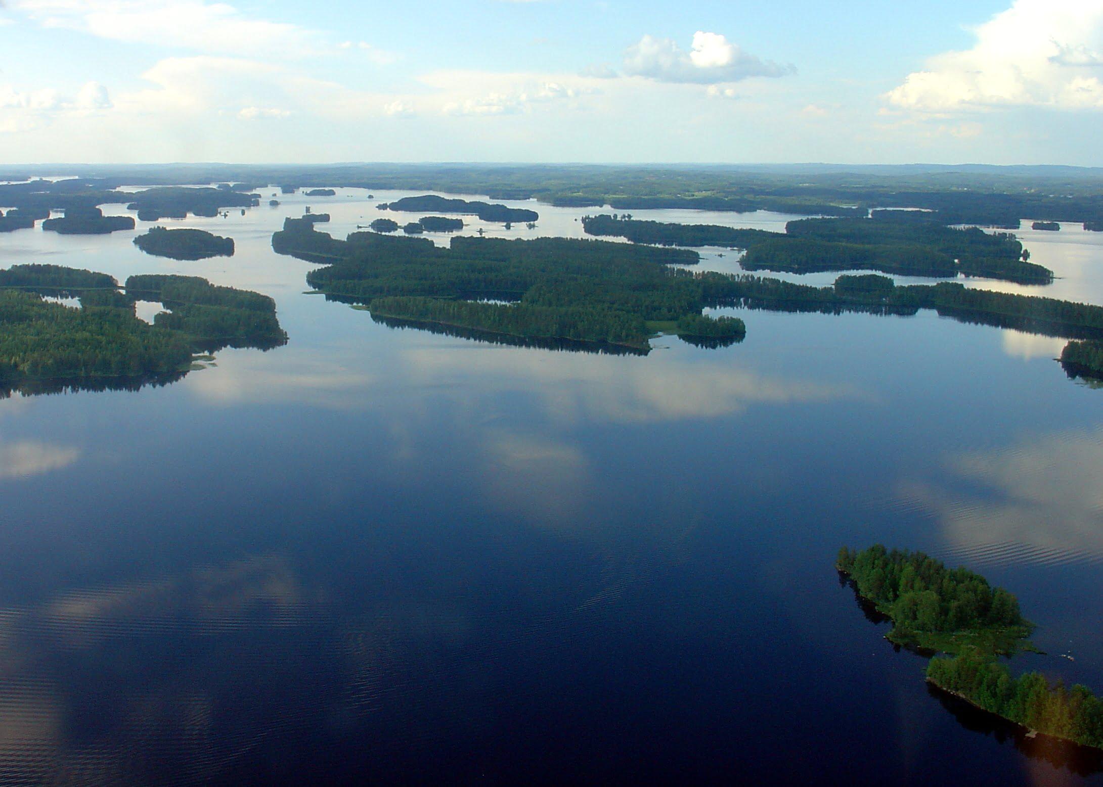 Lagos de Finlandia