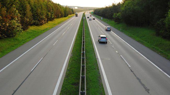 Las autopistas de Chequia y el límite de velocidad