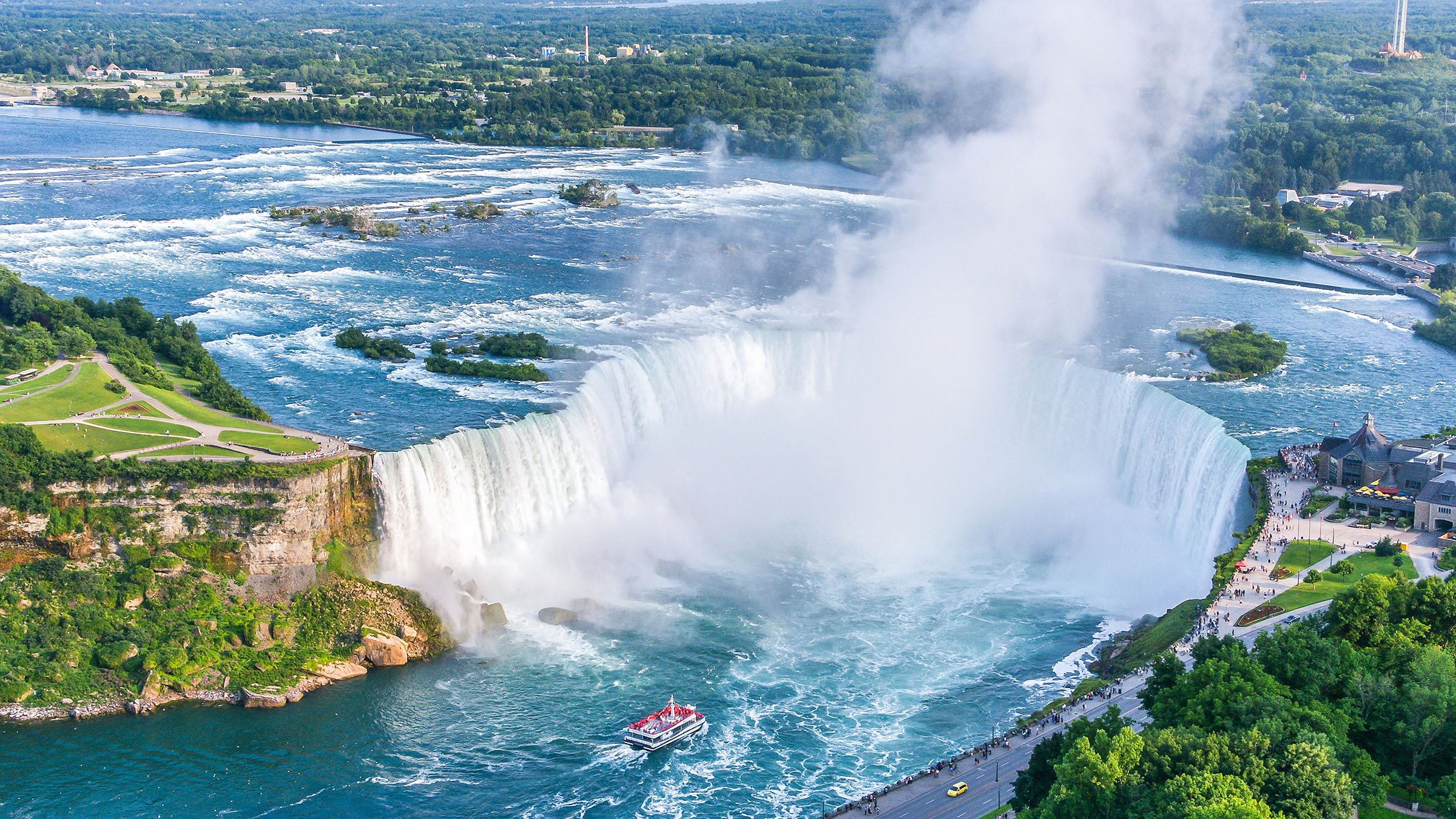 Las cataratas del ni gara una frontera natural entre eeuu for Most beautiful scenic places in the us