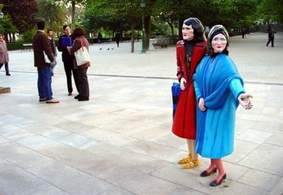 Las Dos Marías de Santiago de Compostela