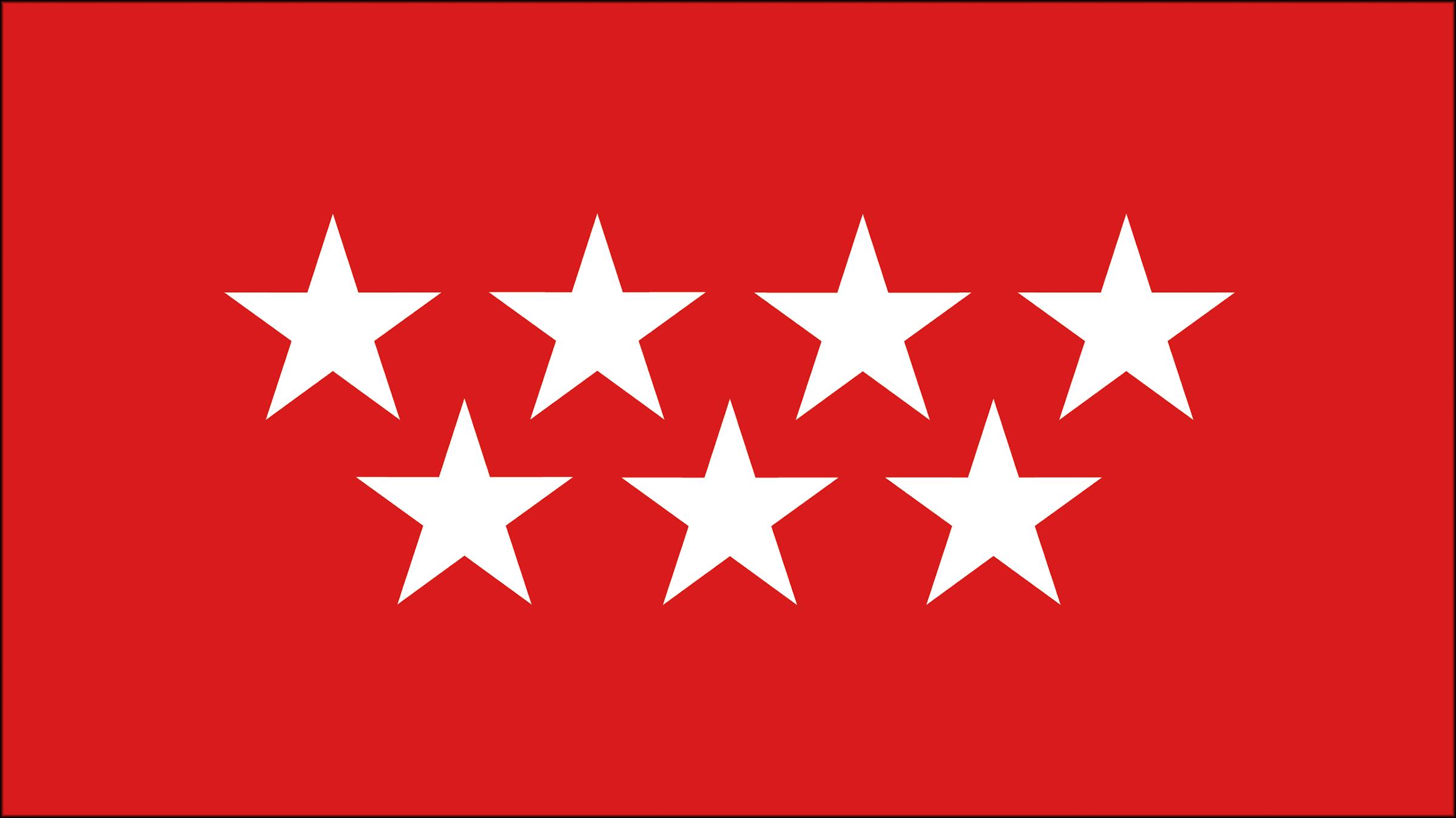 Resultado de imagen de madrid bandera