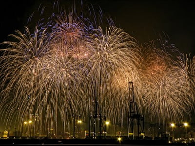 Las fiestas y Málaga