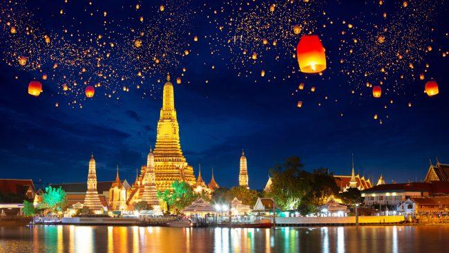 Las navidades en Tailandia y el cumpleaños del Rey