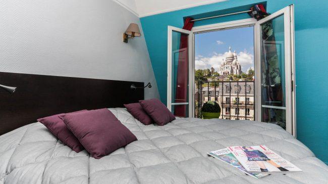 Le Regent Hostel en el barrio de Montmartre, Paris
