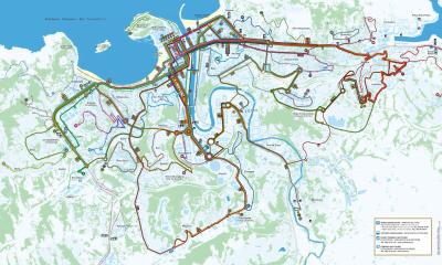 Lineas de Autobús de San Sebastián