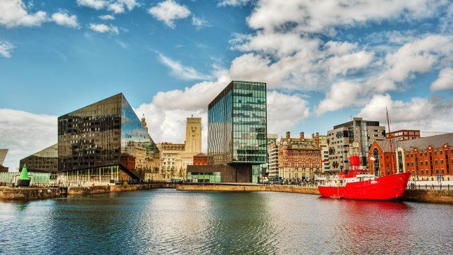 Liverpool: ciudad costera de Reino Unido