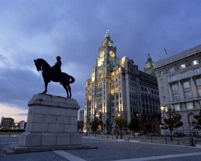Liverpool, Reino Unido edificio Royal Liver