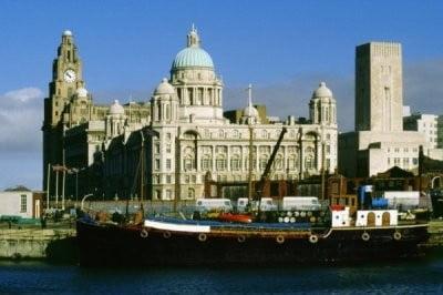 Liverpool, Reino Unido torre del reloj