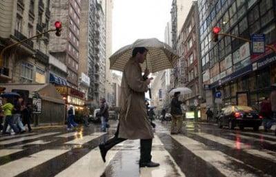 Lluvia en Buenos Aires