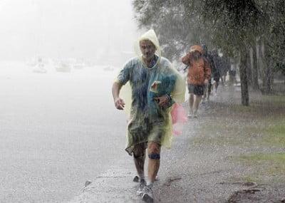 Lluvia en Melbourne