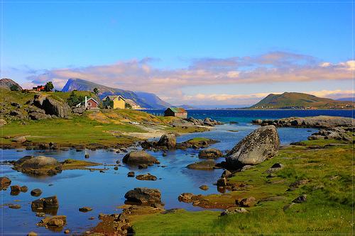 Las Islas de Lofoten, en Noruega