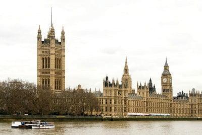 Londres la casa del parlamento