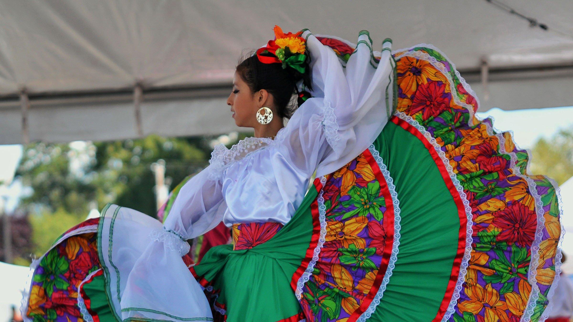 93ef3f94d3 Danzas tradicionales de México