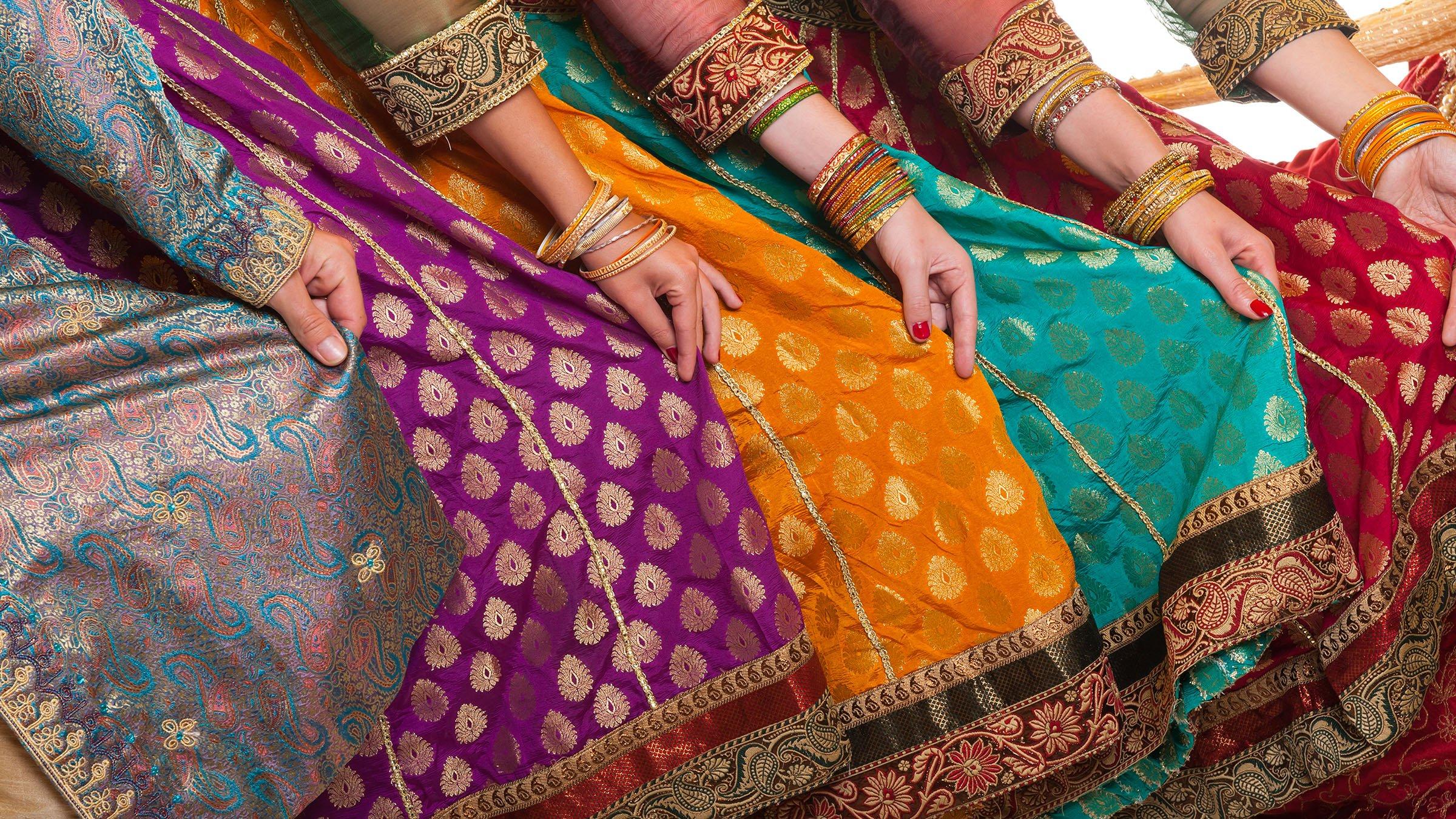 a0ec861767 Los coloridos trajes típicos de la India