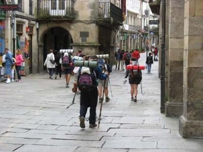 Los peregrinos de Santiago
