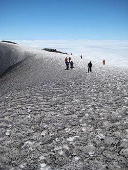 los volcanes más activos clima en el volcán