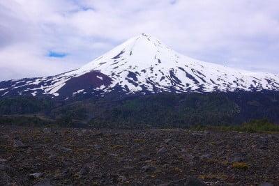 los volcanes más activos volcán Llaima