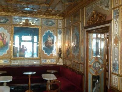 Lujo en el Café Florian