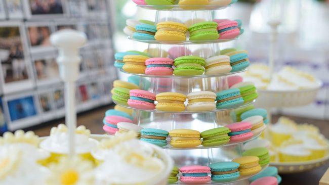 Macarons: traditionelles Dessert in Frankreich