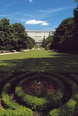 Madrid aire libre Los Jardines de Ópera