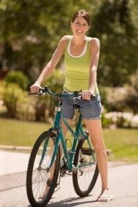Madrid aire libre paseo en bicicleta
