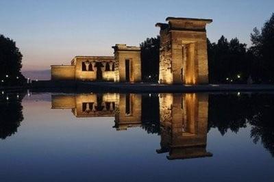 Madrid aire libre Templo de Debod