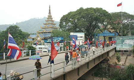 Mae Sai, Tailandia
