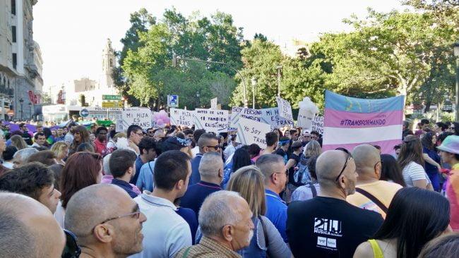 Manifestación do Orgullo LGTB de Valencia