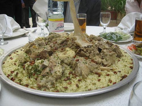Mansaf de Jordania