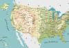 Mapa de Autopistas de Estados Unidos