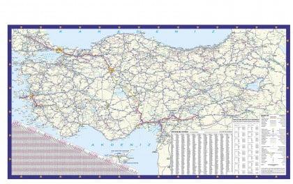 Mapa de carreteras, Turquía