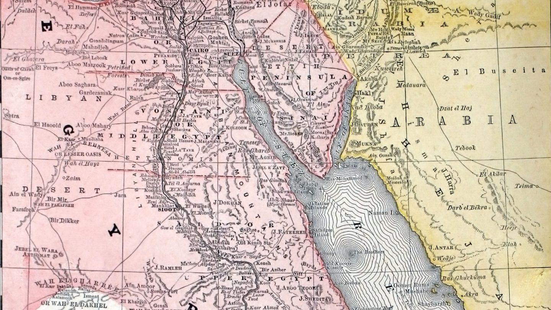 Mapa De Egipto Antiguo.Mapa Del Antiguo Egipto