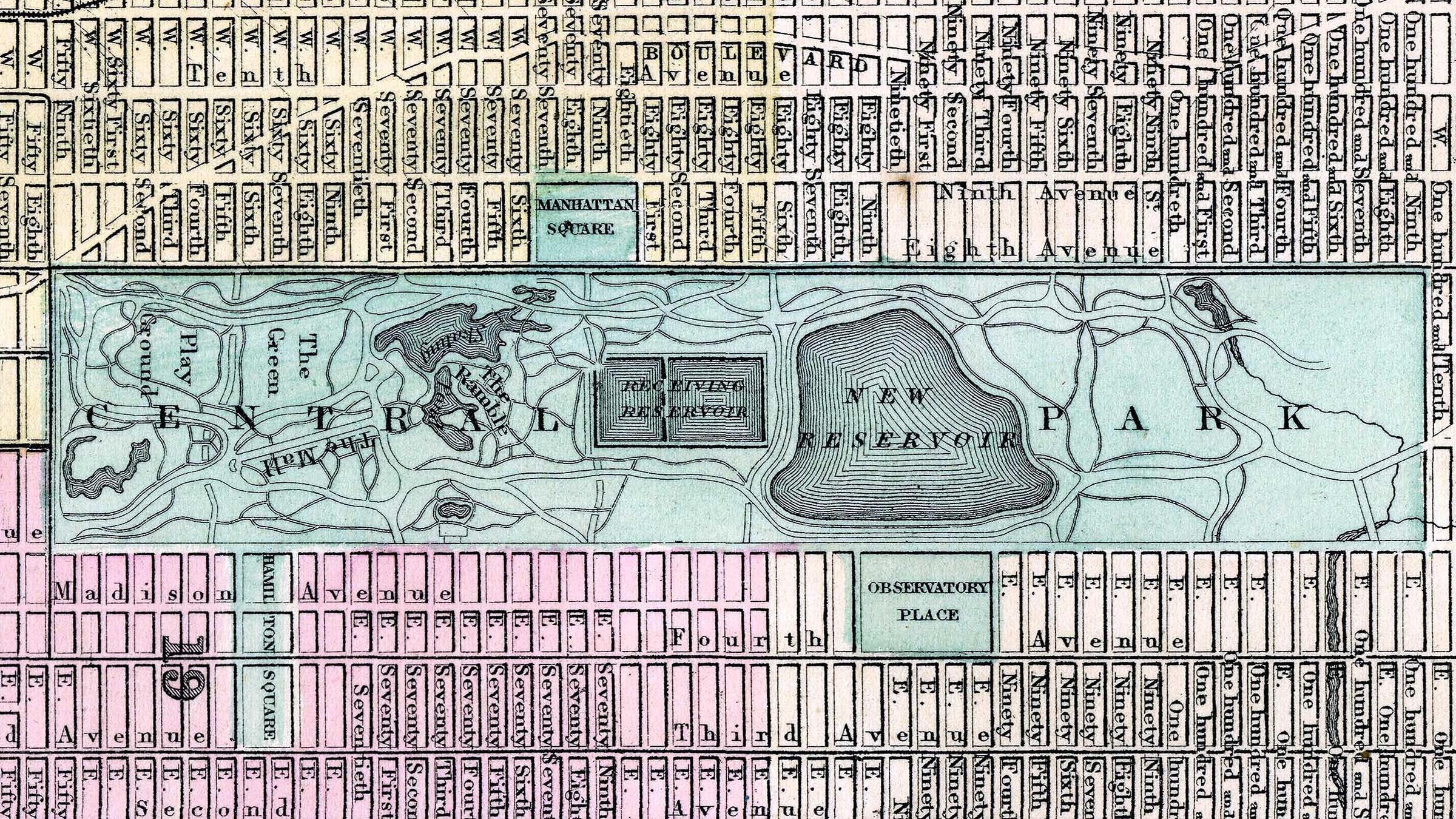 Mapa gay de Nueva York