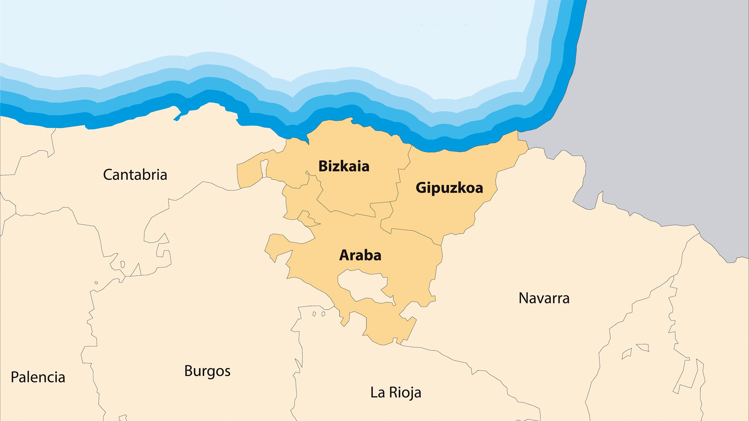 Mapa del Euskera