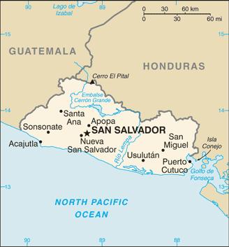 mapa San Salvador
