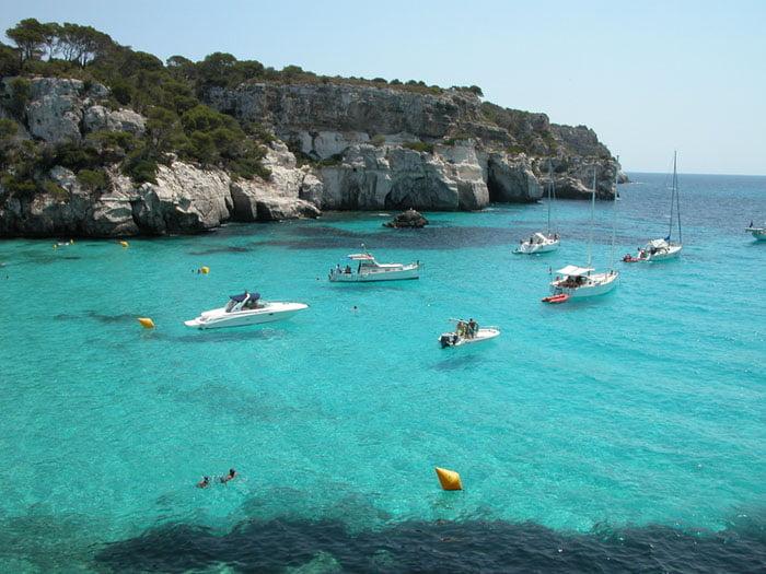 Mar de Cala Macarella