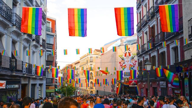 Marcha del Orgullo Gay en Madrid