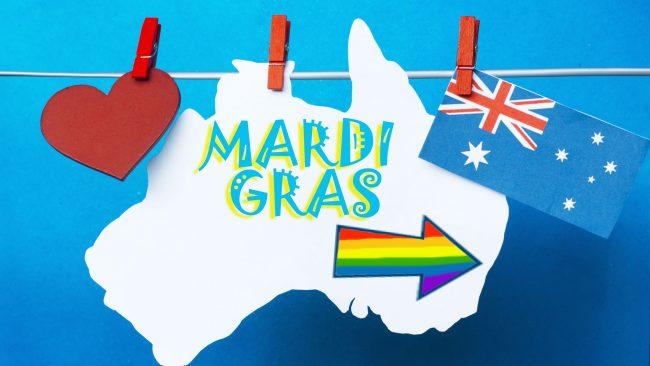 Marcha del Orgullo Gay Mardi Gras, Sidney