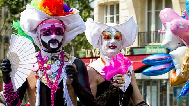 Marcha del Orgullo LGBT en París
