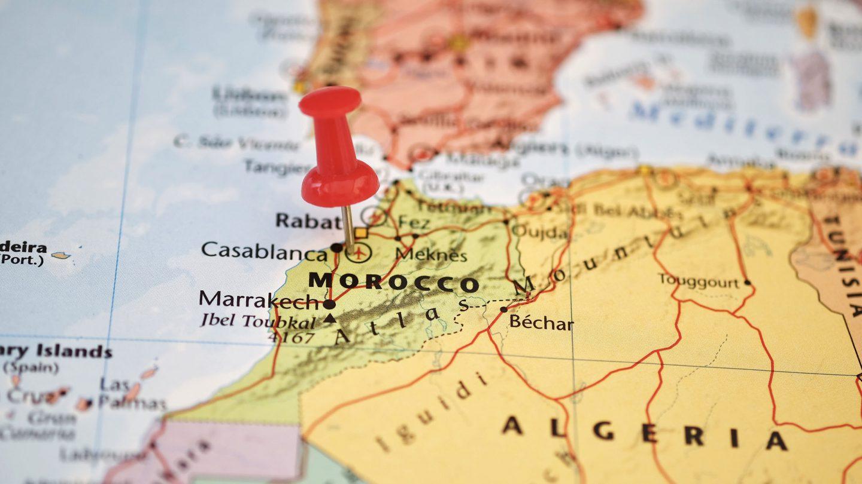 Mapa De Marruecos Ciudades.Mapas De Marruecos
