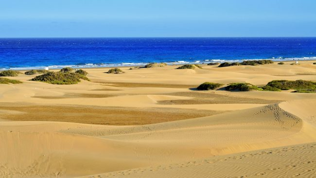Maspalomas, the best beach in Spain for gay tourism