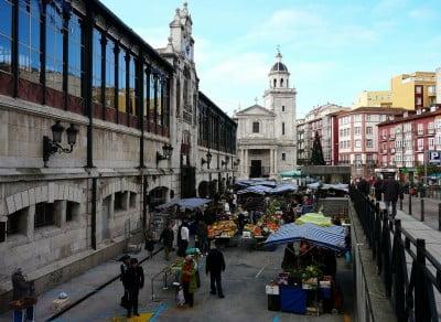Mercado de la Esperanza en Santander